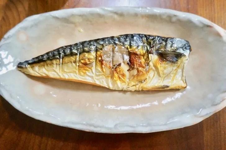 コストコの塩サバフィレ(調理後)