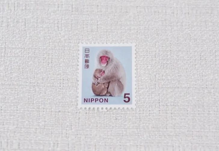 5円切手の普通切手
