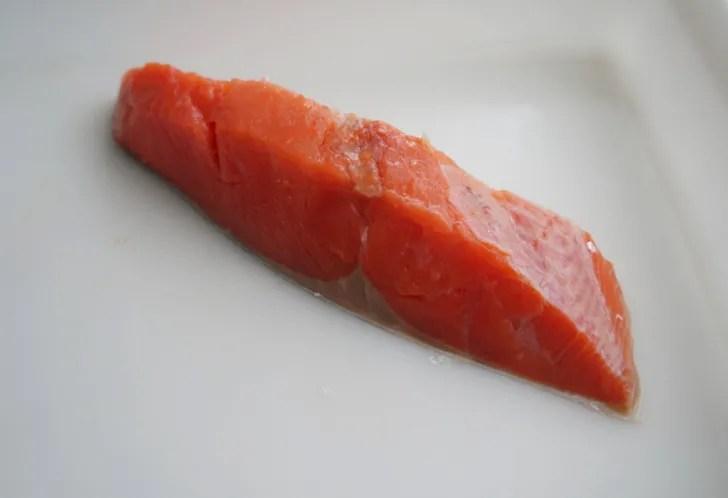 コストコの天然紅鮭定塩切身・甘口(鮭の身)