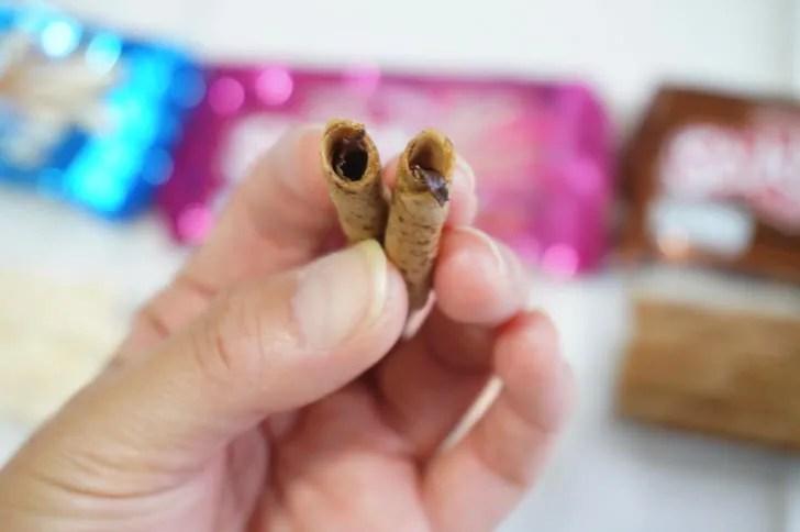 コストコのスティッコフィンガーズ(スティックに入っているチョコレート)