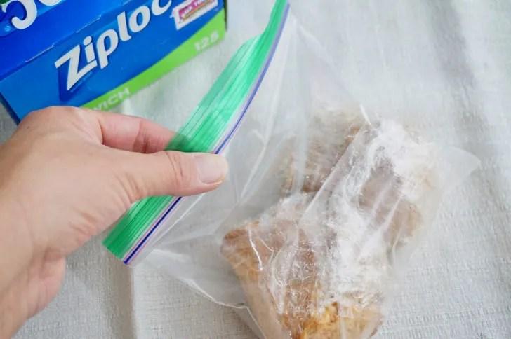 コストコのジップロック サンドイッチ(食品を入れる)