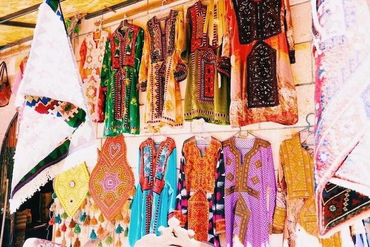 トルコ・イスタンブールのローカルマーケット
