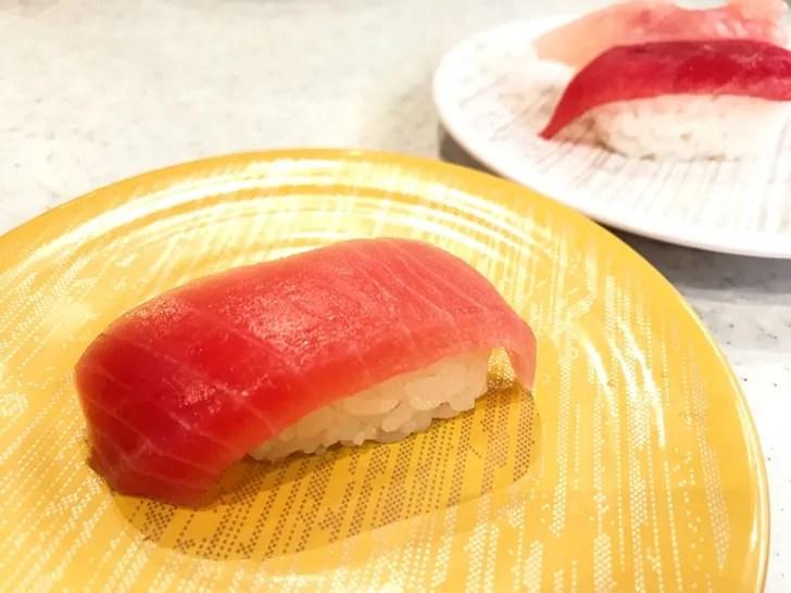 かっぱ寿司 まぐろ