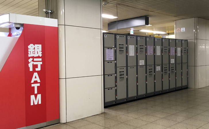 地下鉄名古屋駅の東改札付近