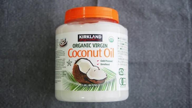 コストコのオーガニックココナッツオイル(パッケージ)