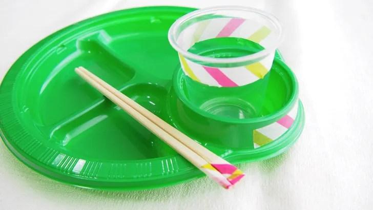コストコのPOINT&LINE マスキングテープ(マスキングテープの使い方・食器をプチアレンジ)