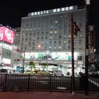 大阪駅と阪急梅田の間にある道路