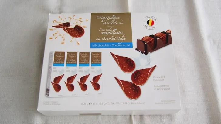 コストコのハムレット チョコクリスピー(パッケージ)