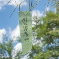 七夕飾りの短冊