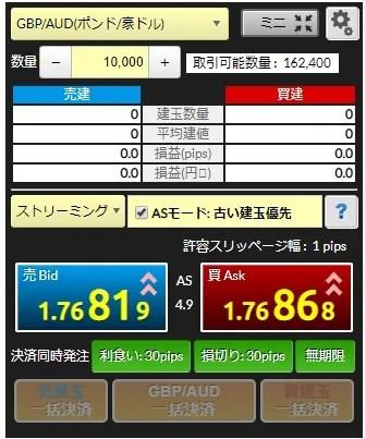 【FX】自動売買