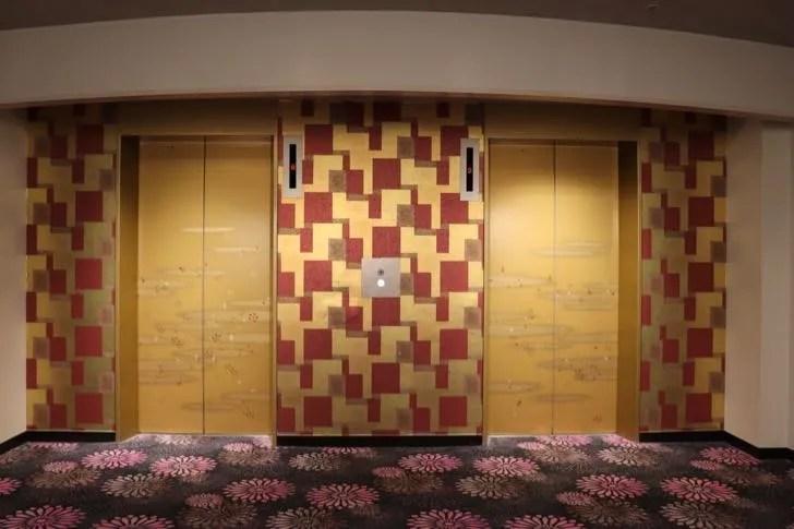 ニューフジヤホテルのエレベーター