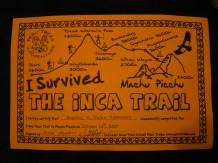 Inca Trek