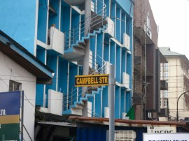 campbell st. commemorates 2 Lagosians Consul Robert Campbell and Prof. Robert Cambell, cotton grower in Abeokuta