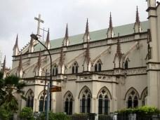 Holy Cross Catholic Church original 1890, rebuilt: 1934