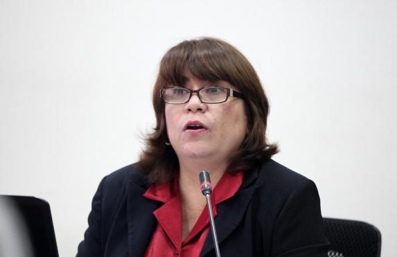 La jueza Valdés.