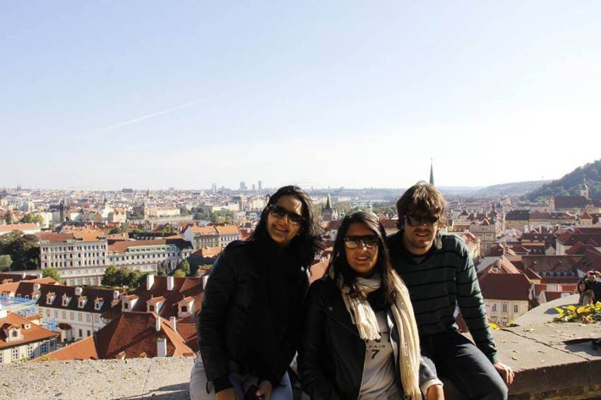 Os 3 em Praga, República Checa