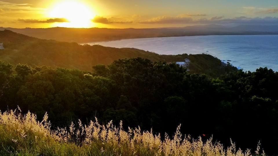 Paisagem do Por do Sol em Byron Bay