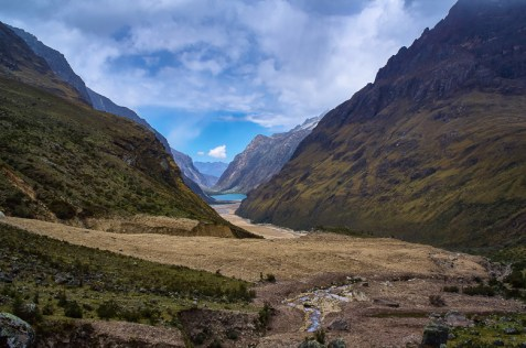 Beautiful view at the Santa Cruz trek without a guide in Peru