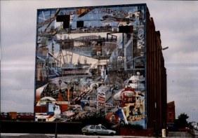 Walter Kershaw, Old Trafford mural