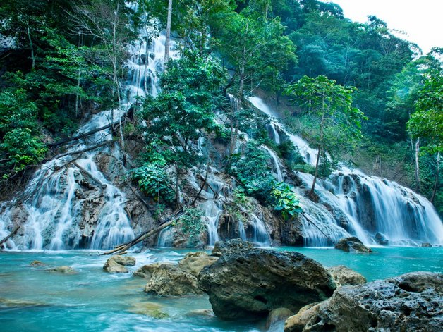 you-can-book-excursions-to-nearby-waterfalls-through-the-resort-one-trip-includes-a-90-minute-trek-to-a-blue-lagoon-where-guests-can-jump-off-the-rocks-and-swim-the-trip-costs-175-per-person