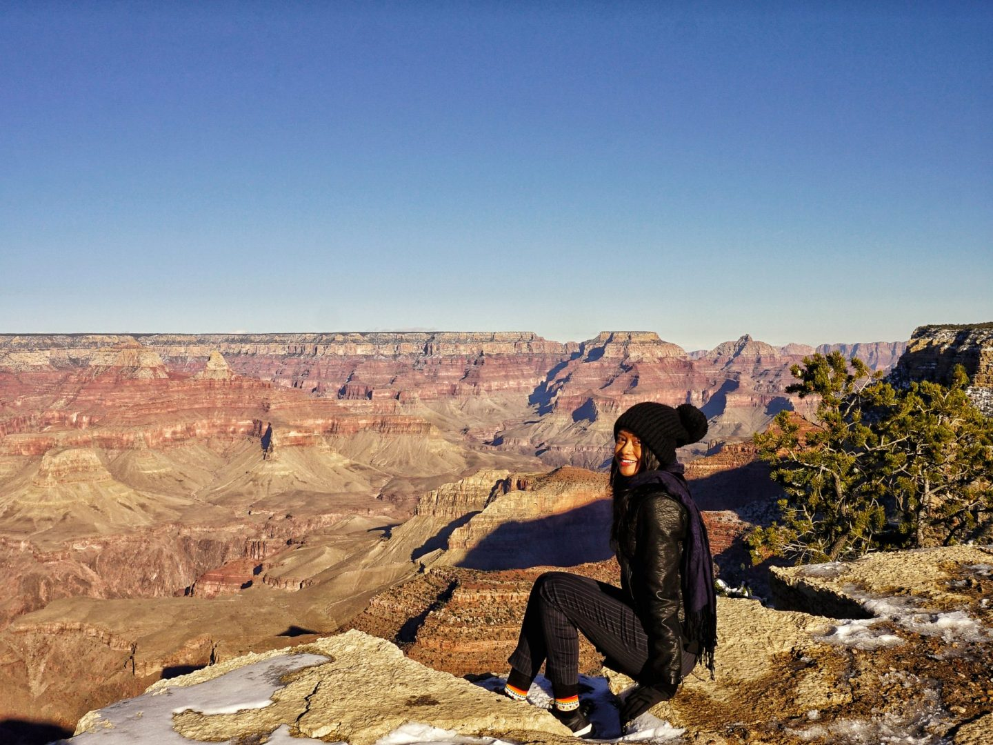 Visiting the Grand Canyon in January