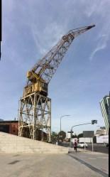Puerto Madeor crane.