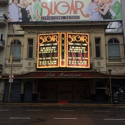 Av. Corrientes. Theatre