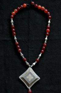 Antique tuareg wedding necklace