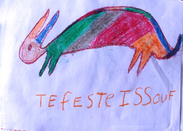 Terfeste's drawing 2015