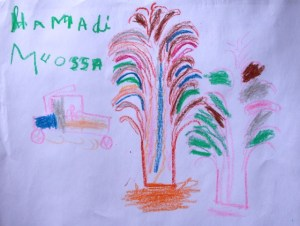 Hamadi's drawing 2015