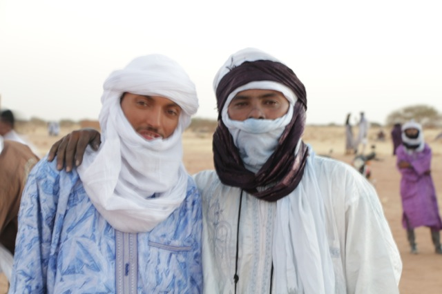 Bombino rocked his desert blues most of the night.