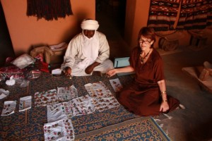 Aghali of Iferouane, one of our great friends oversees 47 artisans who have employment because of our orders.