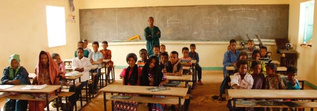 Tamesna classes with director Assadek