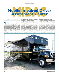Mobile Impaired Driver Assessment Center