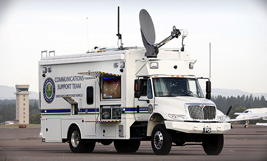 FAA Communications Vehicle