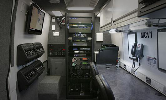 Sprinter Van Work Area