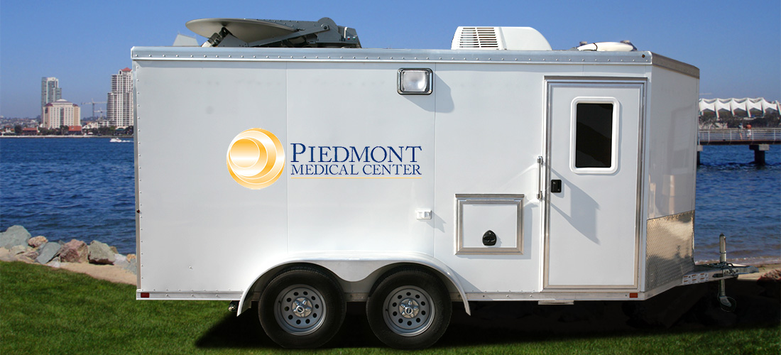 Piedmont Medical Communications Trailer