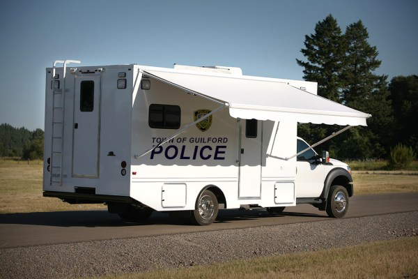 Guilford Police Mobile Command Vehicle