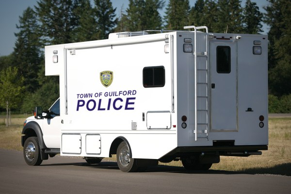 Police Mobile Command Vehicle