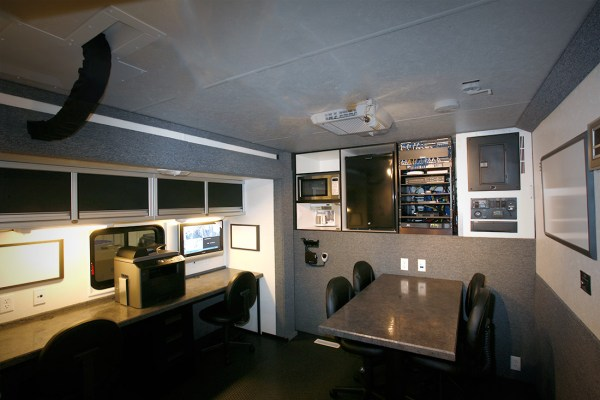 Mobile DUI Work Area