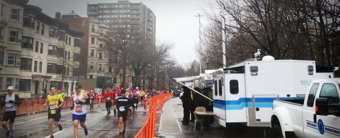 MEMA Trailer Boston Marathon