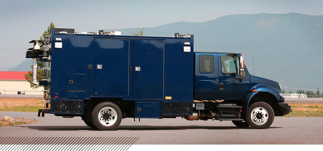 emi rf shielded truck national guard