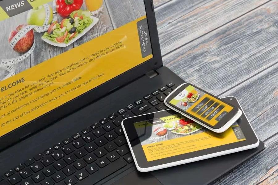 Remote work skills - web design