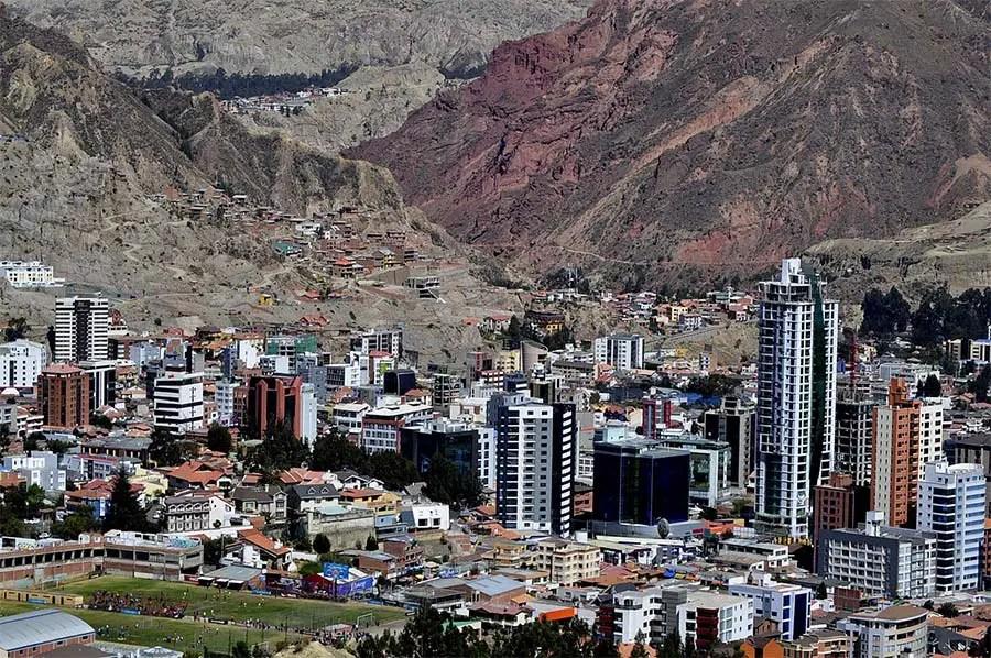 Calacoto skyline - Zona sur La Paz