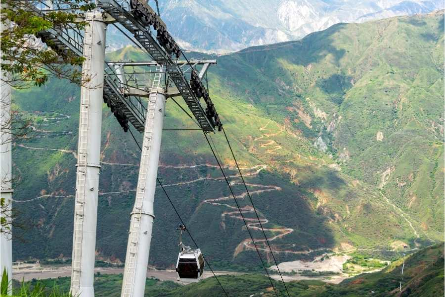 Chicamocha cable car
