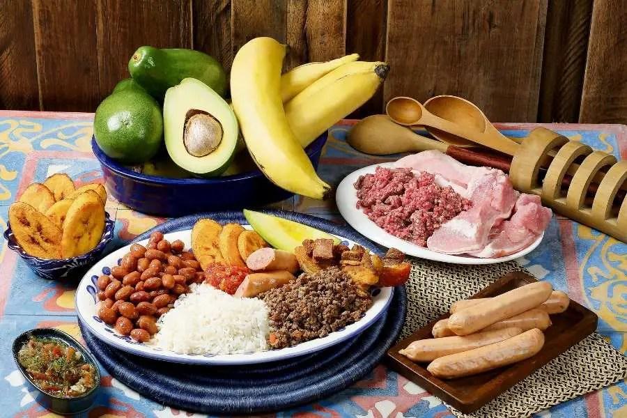 Food in bogota