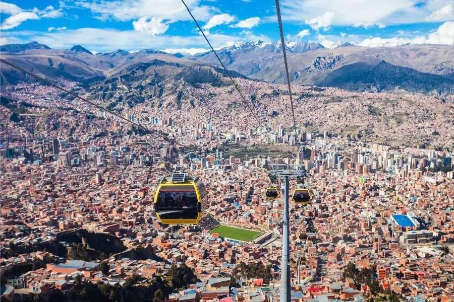 La Paz City Cable Cars