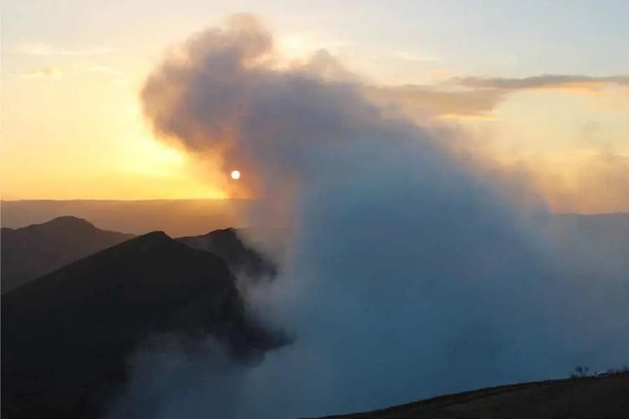 Masaya Active Volcano Park Nicaragua