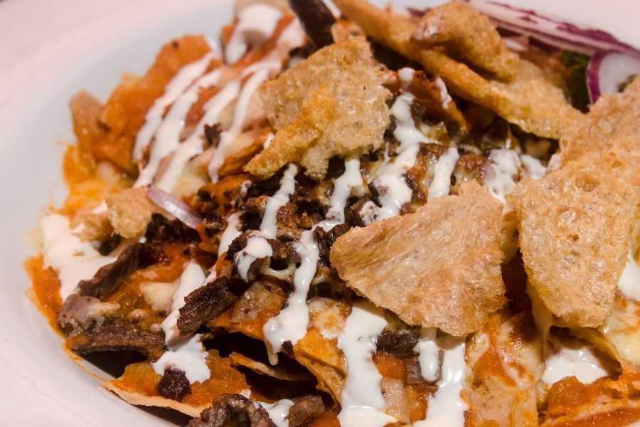 Mexican 'Chilaquiles'