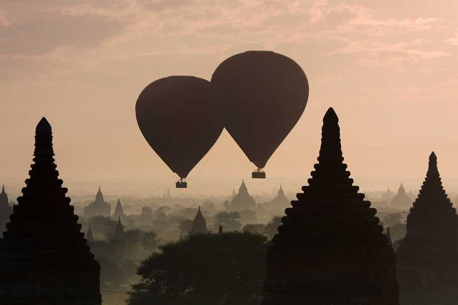 Myanmar balloon